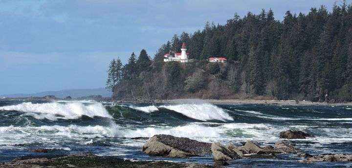 The Carmanah Point Lighthouse Etzkorn manages is unaccessible by road.