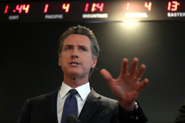 California Gov. Gavin Newsom issued a stay-at-home order to combat COVID-19 on March