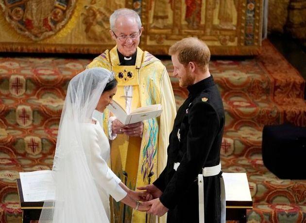 2018年5月19日にとりおこなわれた、ハリー王子とメーガン妃の結婚式。カンタベリー大主教が司式者を務めた