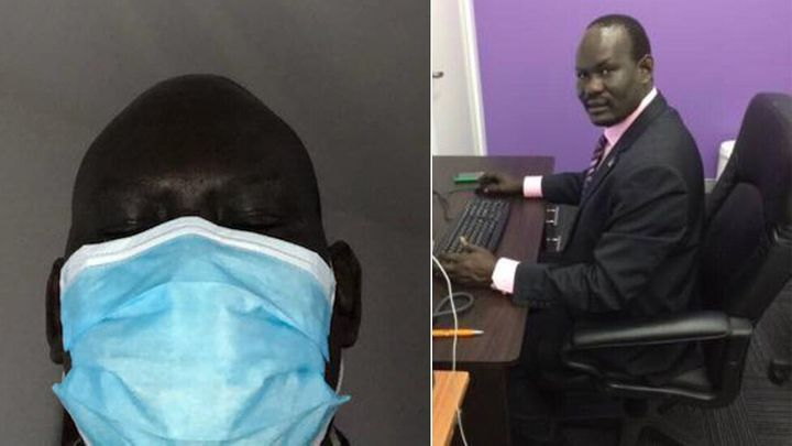 Southern Hope Community Organisation founder Emmanuel Kondok has closed his office due to social distancing measures. He now hosts live-stream calls to support South Sudanese and African communities in Western Sydney.