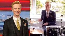 BBC天気キャスター、番組の曲に合わせて自宅でドラムを披露。華麗すぎてネットで話題に
