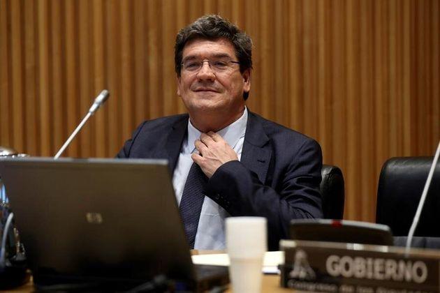 El Ministro de Seguridad Social, Inclusión y Migraciones, José Luis Escrivá, el 15 de abril de 2020 en...