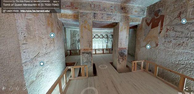 Αιγυπτιακός βασιλικός τάφος ηλικίας 5.000 ετών «ανοίγει» για εικονική