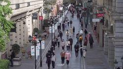 Las calles de Wuhan vuelven a llenarse tras meses de