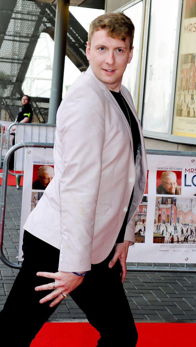 Joe Lycett at a premiere last