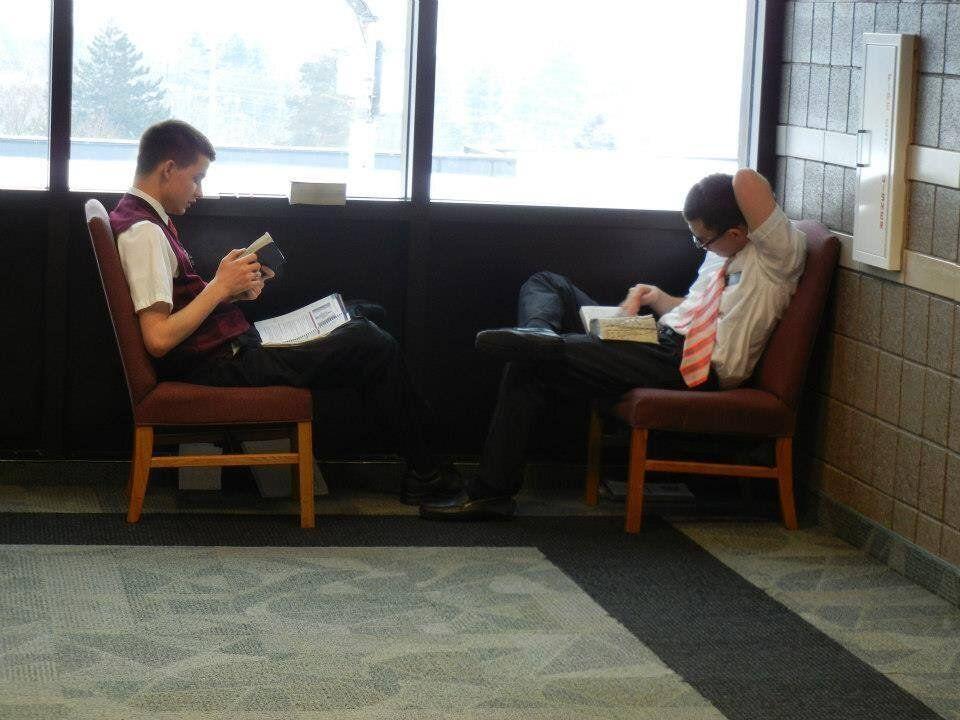 <em>Missionaries at the Referral Center Mission.</em>