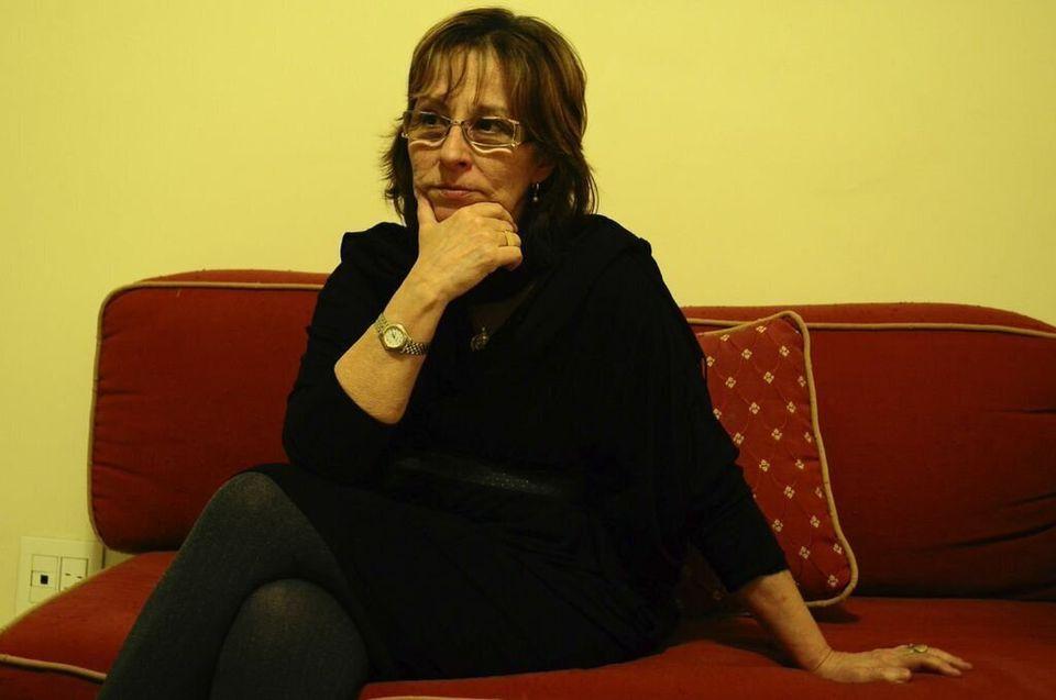 Ana Simas, head of the Lagoa neighborhood homeowners association, opposes Sacopã's quilombo certification....