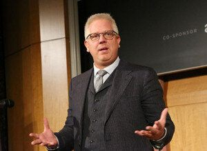 """<div style=""""width:300;font-size:80%;""""><em>Glenn Beck is renovating a 72,000-square-foot movie<br>studio in Texas. (Photo: Rob Kim/Getty Images)</em></div>"""