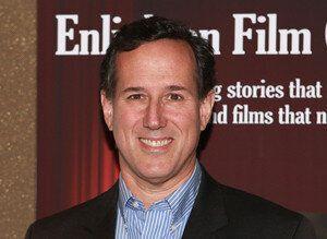 "<div style=""width:300;font-size:80%;""><em>Rick Santorum became the CEO of EchoLight Studios<br>in 2013. (Photo: Robin Marchant/Getty Images)</em></div>"