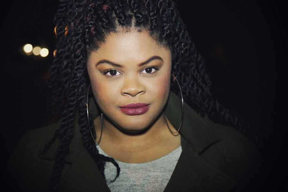 """<em>Johnetta """"Netta"""" Elzie is part of a small group of activists in Ferguson, Missouri who have become essential sources of i"""