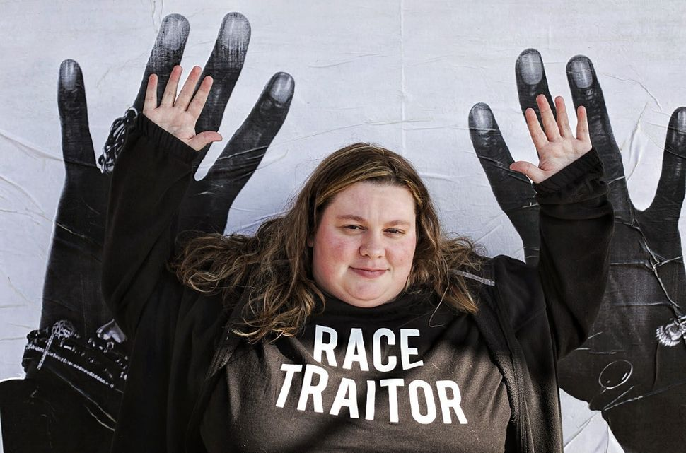 <em>Molly Greider said the protesters have become like a second family to her. (Emily Kassie/The Huffington Post)</em>