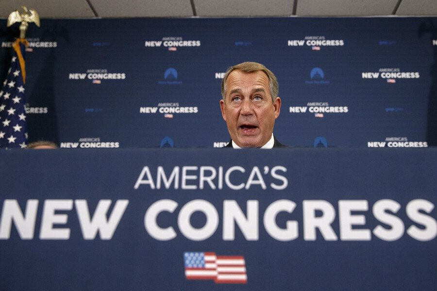 <em>Speaker John Boehner has close ties to the American Action Network, a dark money nonprofit, and the Congressional Leaders