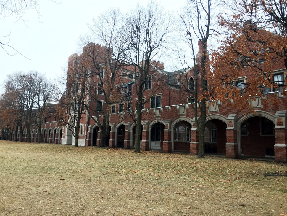 <em>One of the residence hall buildings at Grinnell College that are located in three areas of the campus. Students who r