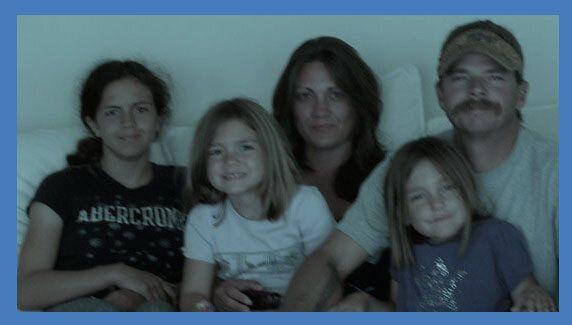 <em>The Fitzpatrick family in 2011.</em>