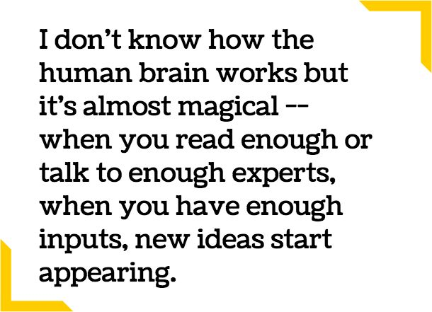 Inside The Mind That Built Google Brain: On Life, Creativity, And