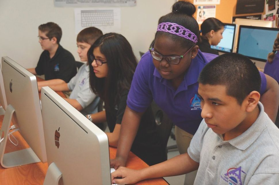 <em>Students at the CREC Academy of Aerospace and Engineering High School.</em>   Connecticut still has some of the count