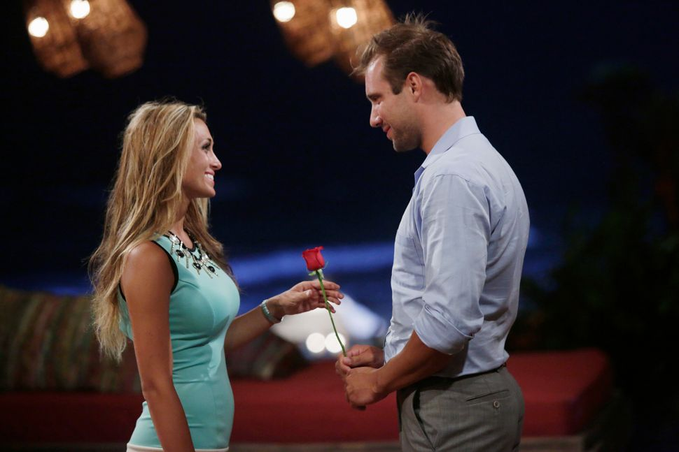 """<em>Can you find love... on a beach? Marcus Grodd and Lacy Faddoul apparently did on the first season of """"Bachelor in Parad"""