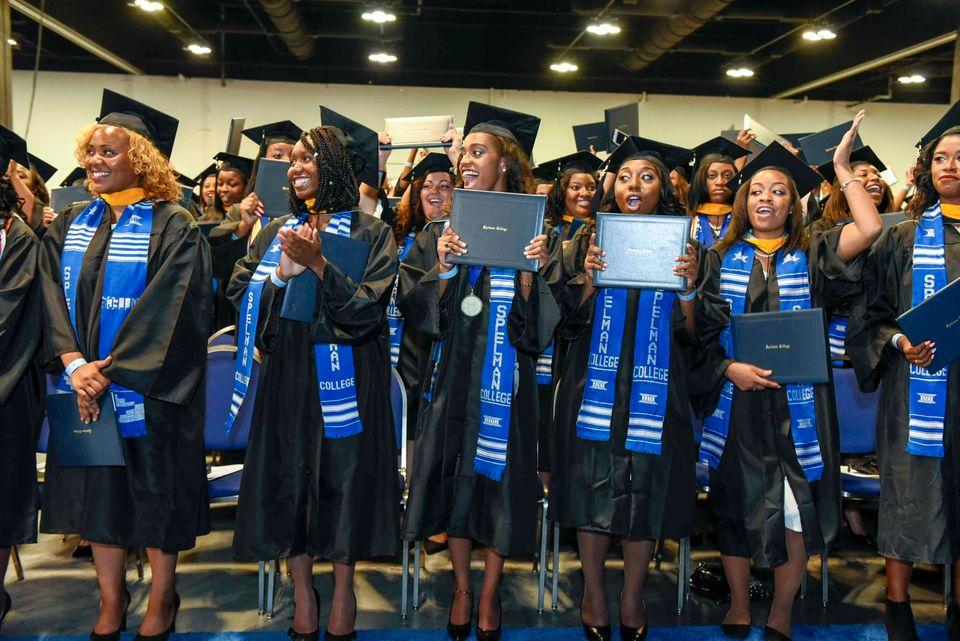 Graduates of Spelman College's class of 2015. (Photo: Spelman