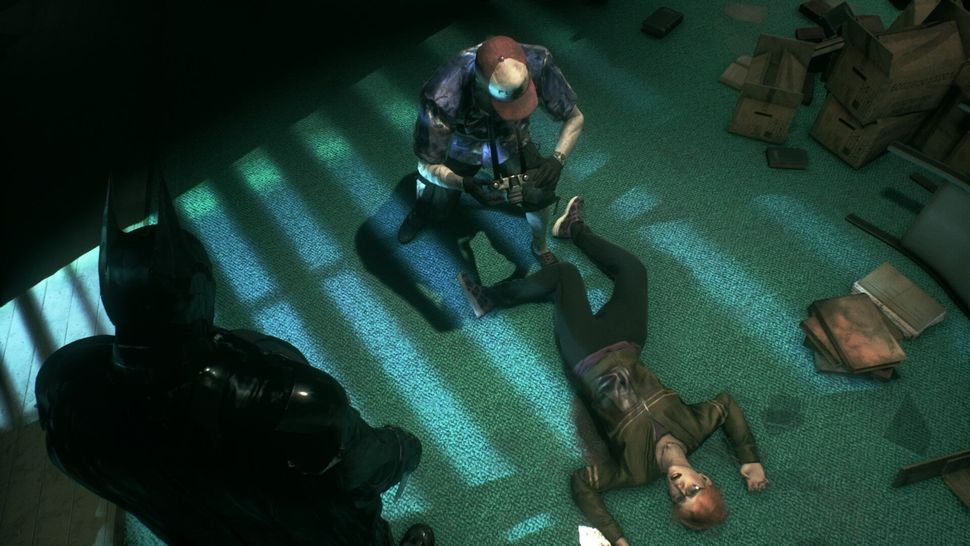 """""""Arkham Knight"""" recreates a troubling scene from """"The Killing Joke"""" in which Barbara Gordon is shot and paralyzed by the Joke"""