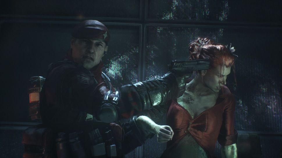 """Poison Ivy is held hostage in """"Arkham Knight."""""""