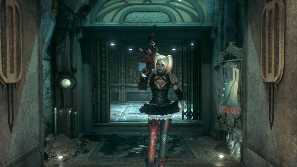 Harley Quinn steps up.