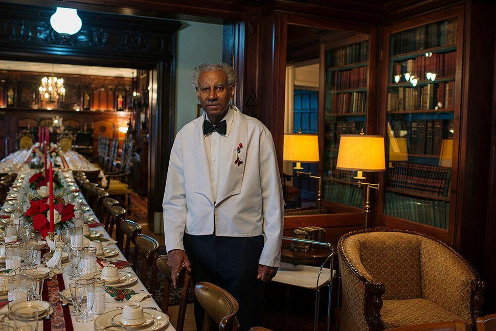 <em>Mr. Nahum Sets the Table</em>