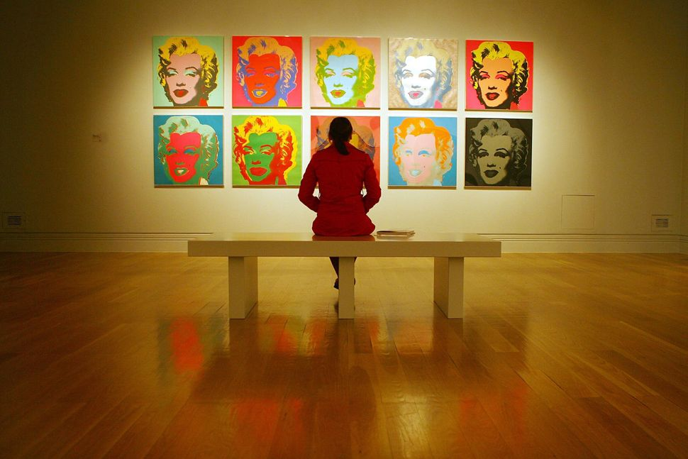 """Andy Warhol's """"Marilyn 1967"""" (Courtesy of Ben Stensall/AFP/Getty Images)"""