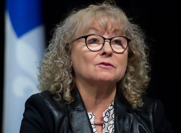 Marguerite Blais, ministre responsable des