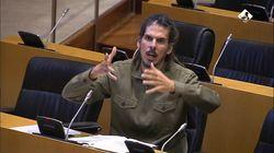 Alberto Rodriguez arrasa al explicar en un minuto la situación de miles de