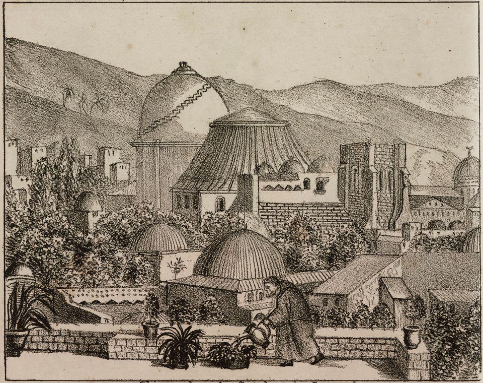 Λιθογραφία Giuseppe Antonelli, 1838,
