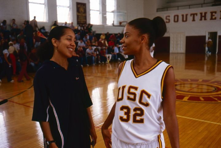 Writer and Director Gina Prince-Bythewood with Sanaa Lathan.