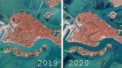 Venezia come era e com'è: le foto del Canal Grande deserto visto dallo