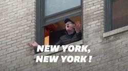 Des milliers de New-Yorkais chantent Sinatra à leur