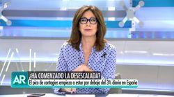 Ana Rosa se pronuncia sobre el tuit de Pablo Iglesias:
