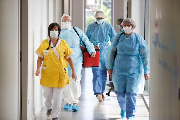 Les infirmières sont les grandes chouchoutes des