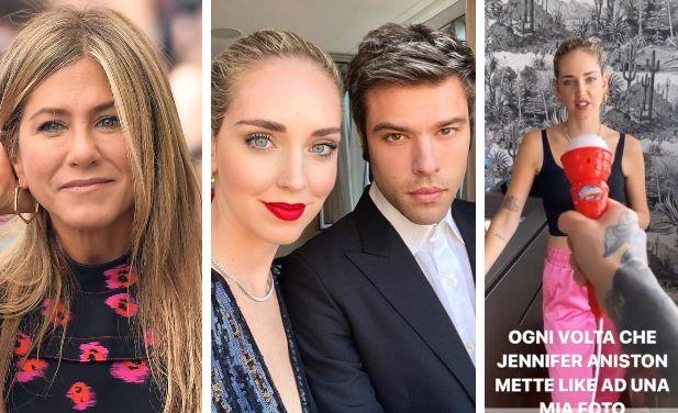 Jennifer Aniston; Chiara Ferragni e