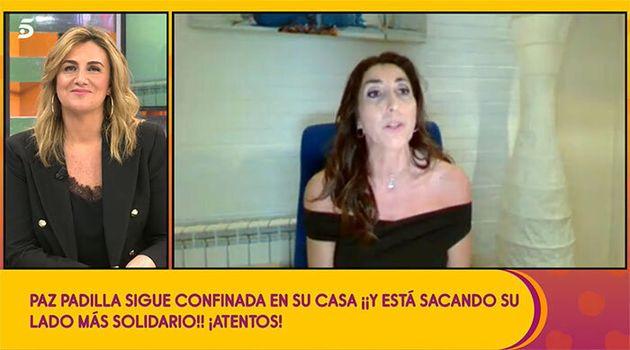Paz Padilla explica por qué no ha vuelto a 'Sálvame':