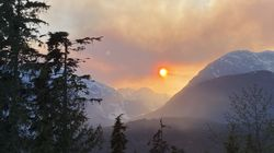 B.C. Crews Battle Out Of Control Wildfire In