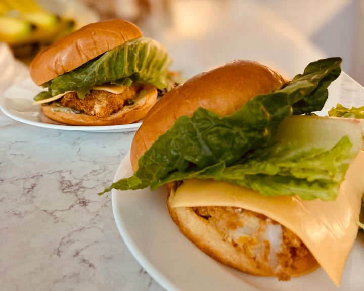 One of our senior editors made an easy fried fish sandwich that tops anything you'd get from a drive thru.