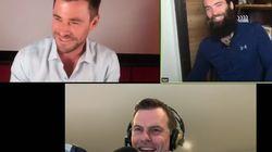 El apuro de Chris Hemsworth en plena entrevista en su casa: desató las bromas de los