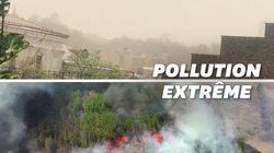 Incendie à Tchernobyl, tempête de sable: Kiev devient la ville la plus polluée au