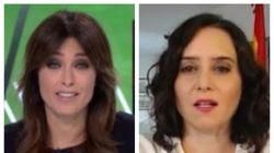 Díaz Ayuso responde así a un tuit de Helena Resano sobre su