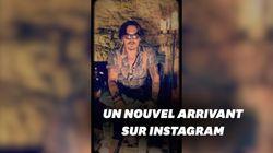 Pour son apparition sur Instagram, Johnny Depp s'est montré bien