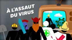 Comment les traitements contre le coronavirus peuvent s'attaquer à la