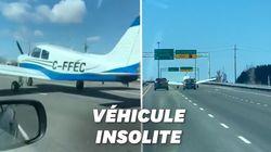 Cet atterrissage d'urgence sur une autoroute au Canada se termine