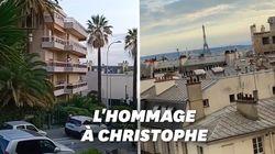 En hommage à Christophe, ses chansons ont résonné dans les rues
