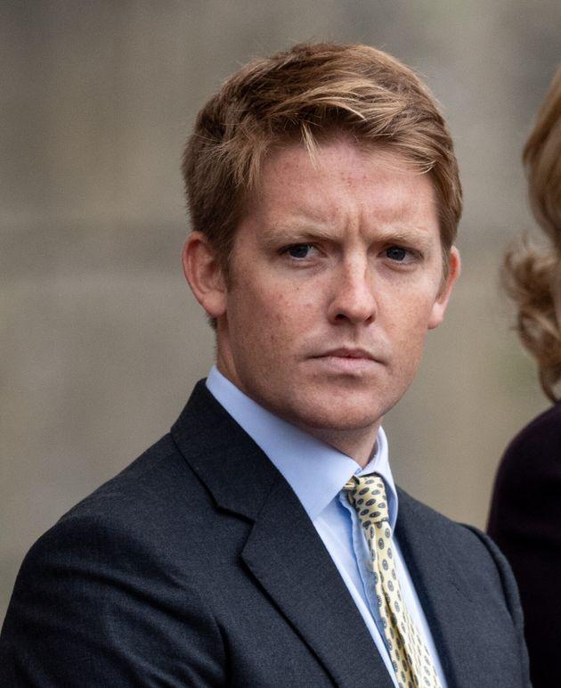 LEEDS, ENGLAND - SEPTEMBER 22: Hugh Grosvenor, Duke of Westminster attends a Consecration Service at...