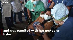 Partorisce durante il coma, dopo due settimane può abbracciare suo figlio. La favola di