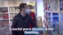 Críticas a Pablo Casado por lo que ha hecho en este economato de Cáritas: salta a la