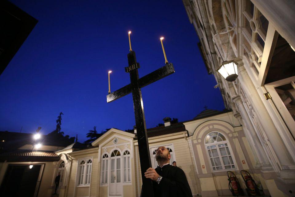 Κωνσταντινούπολη. (AP Photo/Emrah...